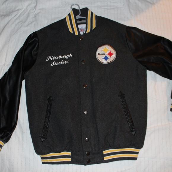 pretty nice 2d5f4 6aa16 Vintage Pittsburgh Steelers Jacket Large